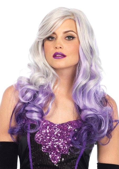 Allure multi color long wavy wig with adjustable elastic strap - MORE COLORS