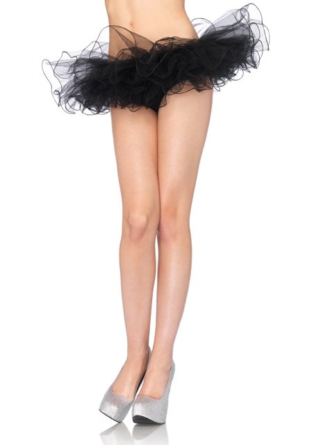 Tulle tutu with swirl edge finish - MORE COLORS