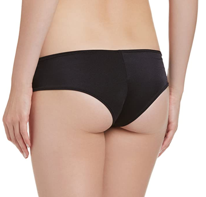 Spandex Booty Shorts with Half Back Coverage
