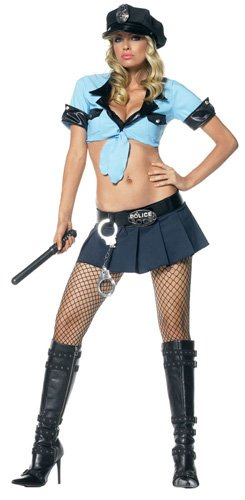 53093f34d97 Sexy Officer Frisk Me Costume