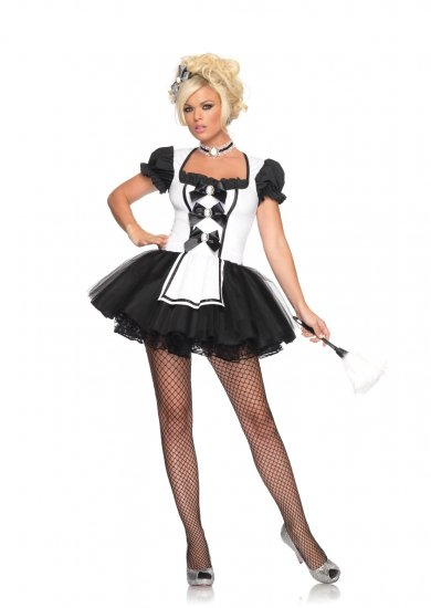 Mistress French Maid Costume