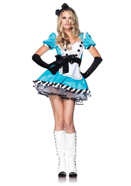 Charming Alice In Wonderland Costume