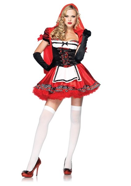 Divine Miss Red Riding Hood Costume