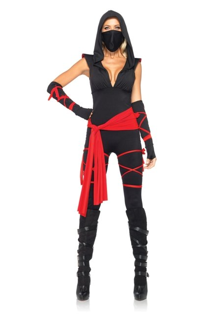 Deadly Ninja Women's Costume
