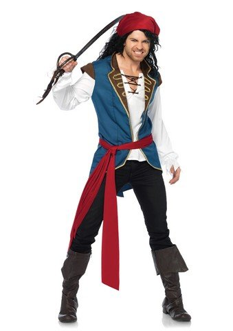 Pirate Scoundrel Men's Costume