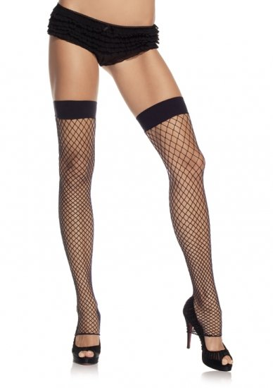 Industrial Net Footless Thigh High Leg Warmers