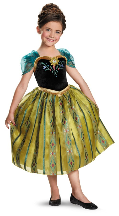 Frozen Anna Coronation Day Dress Costume