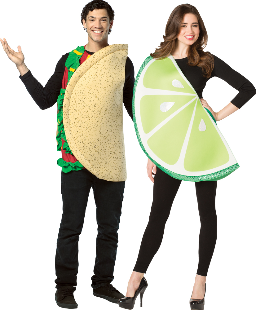Taco & Lime Slice Couples Costume