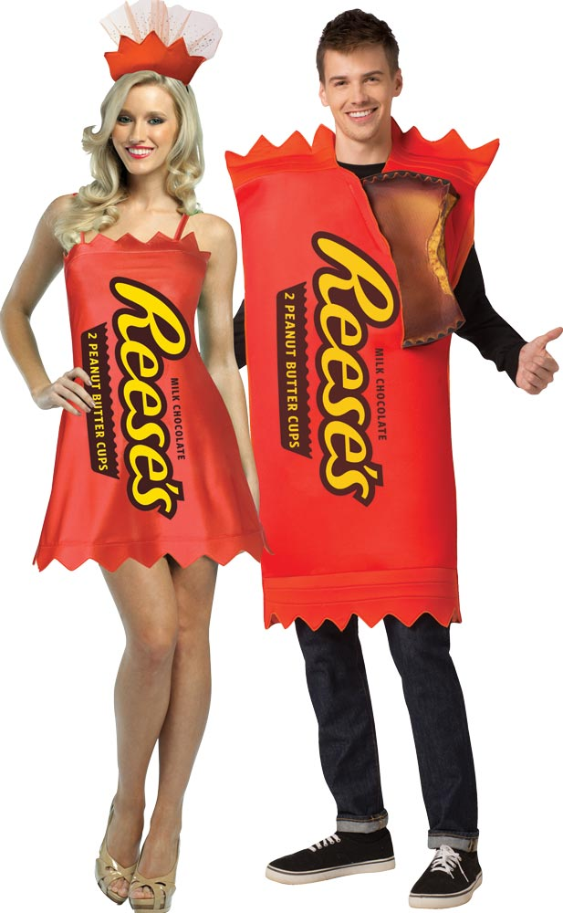 Hershey's Reese's Cup & Dress Couples Costume