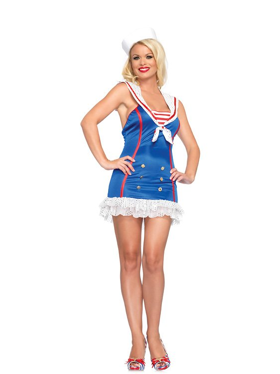 Frisky First Mate Sailor Costume