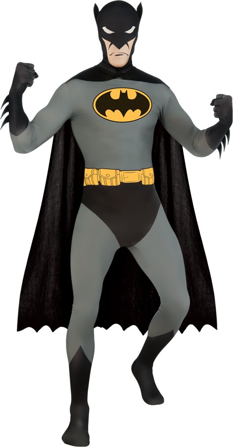 Adult Batman Skin Suit Costume