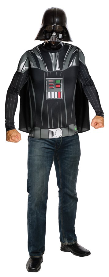 Adult Darth Vader Top Cape and Mask