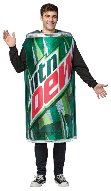 "Mountain Dew ""The Real"" Can Adult Costume"