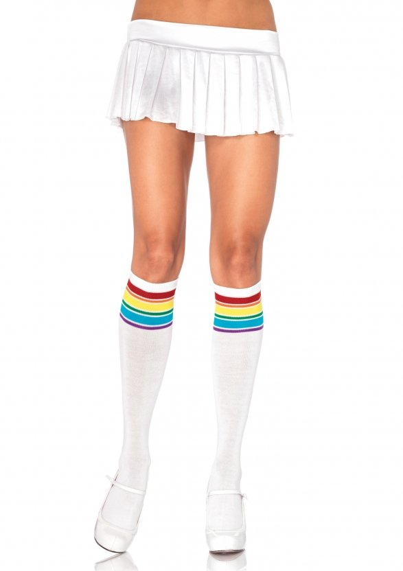 a574f10cb0e Pink Impulse   Knee Highs   Anklets   Leg Warmers   Rainbow athletic ...