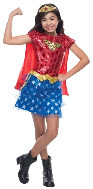 Wonder Woman Child Tutu Dress Costume