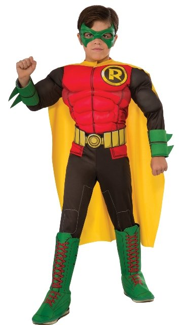 Robin Deluxe Muscle Child Costume