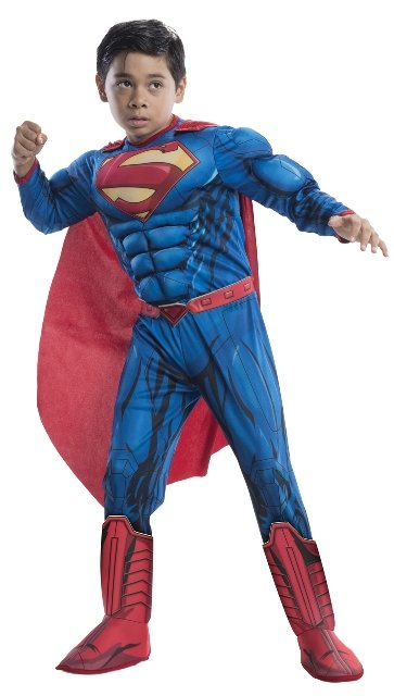 Superman Deluxe Muscle Child Costume