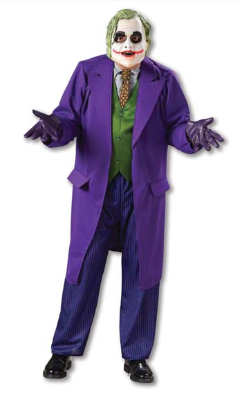 Adult Deluxe Joker Costume