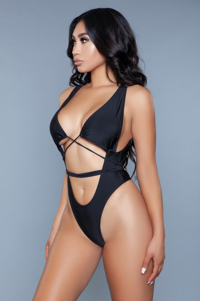 Makayla Swimsuit Black