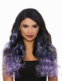 Long Curly Ombre Three Piece Hair Extenstions