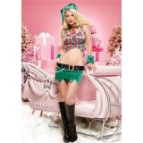 Holly Berry Elf Costume