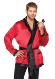 Bachelor Hugh Hefner Men's Costume