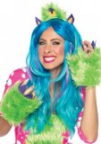 One Eyed Olive Furry Monster Costume Kit