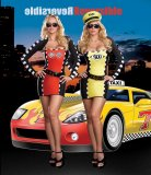 Drive Me Crazy - Reversible Race Car Driver and Taxi Cab Driver Costume