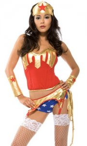 Sexy Wonder Woman Costume - Pow!