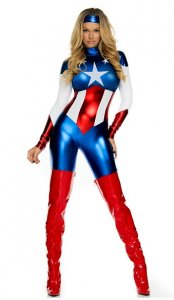 Astonishing Allegiance Sexy Super Hero Costume