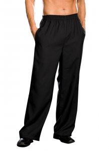 Men's Basic Black Pants