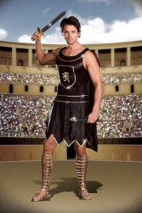 Babe-a-Lonian Warrior King Men's Costume