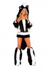 Flower Skunk Costume