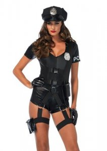 Flirty Five-O Cop Costume