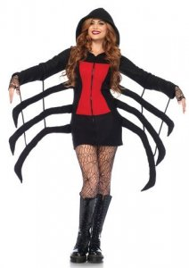 Cozy Black Widow Costume