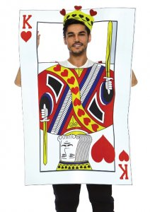 Card King Men's Costume