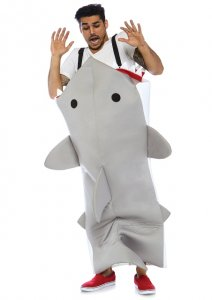 Shark Attack Men's Costume