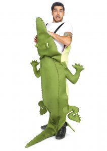 Man-Eating Alligator Costume