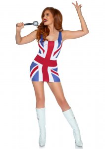 British Flag Dress Costume