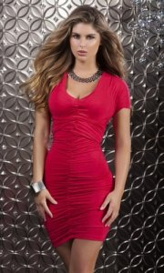 Blaze - Versatile mini dress with straps to create multiple looks