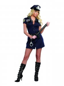 Officer Randi Stopsign Police Women's Costume