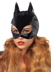 Vinyl Cat Women Mask