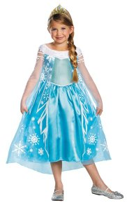 Frozen Elsa Child Deluxe Costume