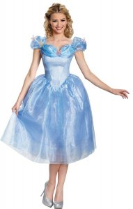 Cinderella Adult Deluxe Movie Costume