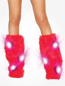 Red LED Leg Warmers